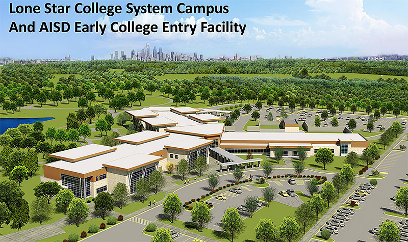 Lone Star College System Campus and AISD Early College Entry Facility